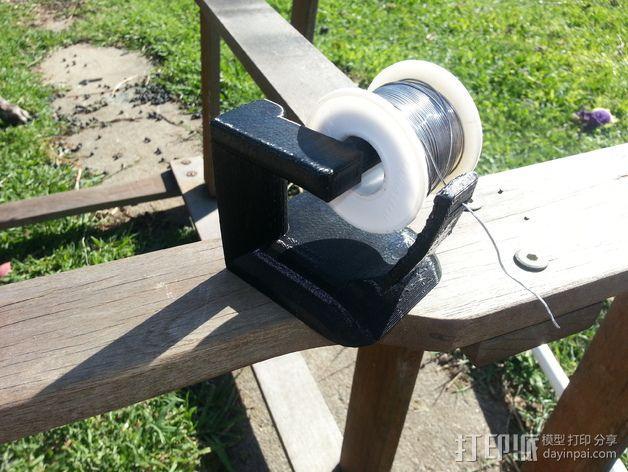 焊料卷轴架 3D模型  图3
