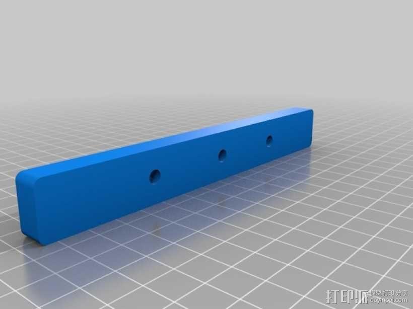 台锯45度倾斜角量规 3D模型  图3
