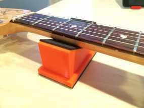 吉他琴颈支架 3D模型