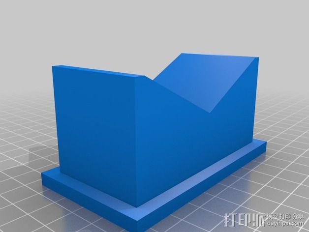 吉他琴颈支架 3D模型  图2
