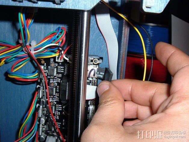 迷你SD卡卡槽 3D模型  图3
