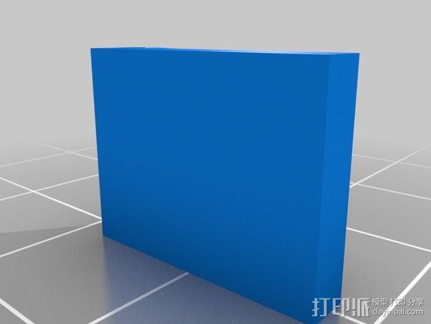 迷你SD卡卡槽 3D模型  图5