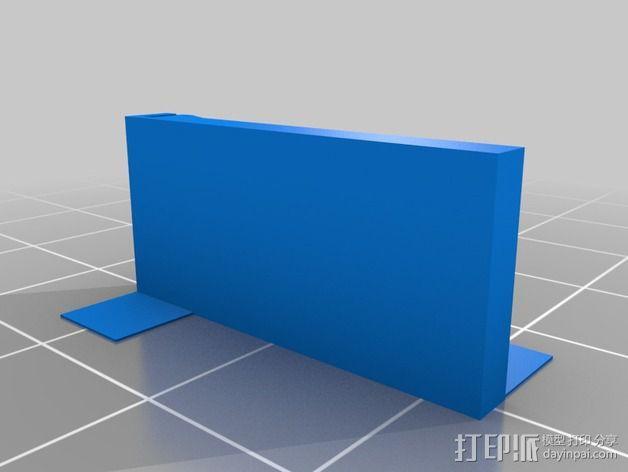 迷你SD卡卡槽 3D模型  图7