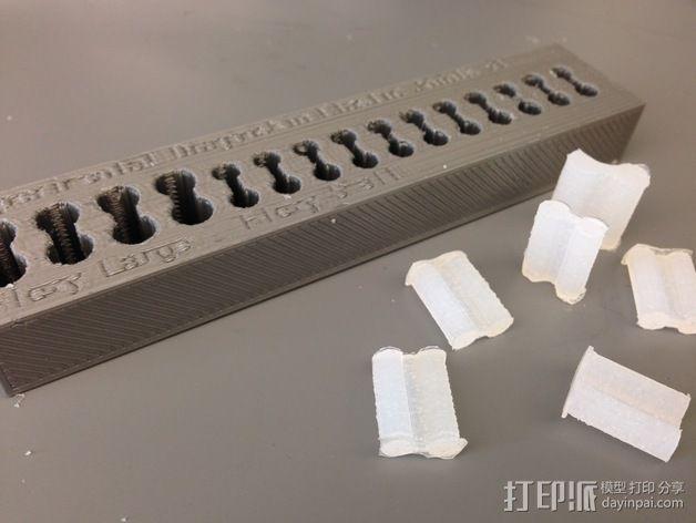 定制化挠性接头 模具 3D模型  图1