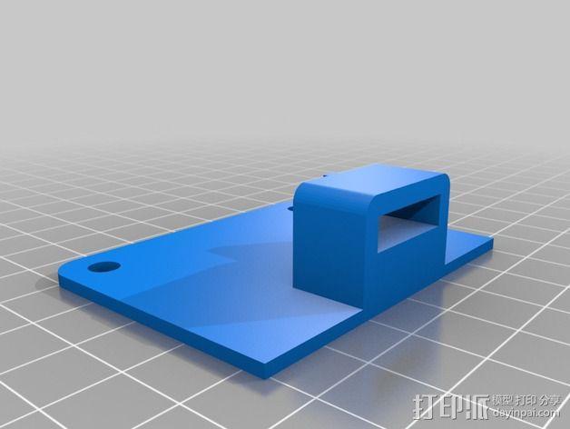 卡尺固定架 3D模型  图2