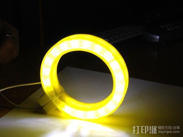 LED环形照明设备 3D模型  图5