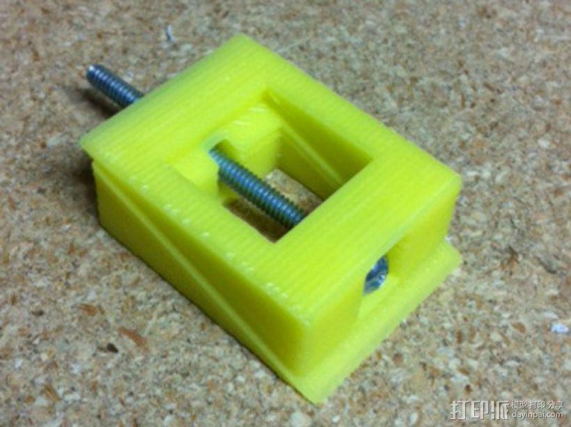 可调整高度的垫片 3D模型  图1