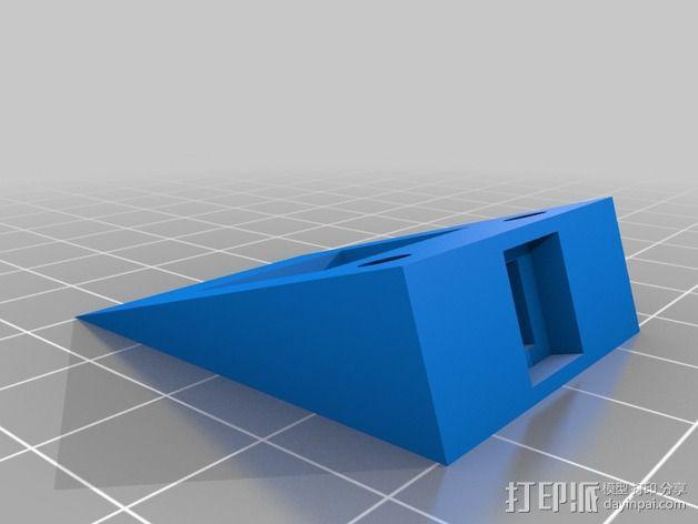 可调整高度的垫片 3D模型  图2