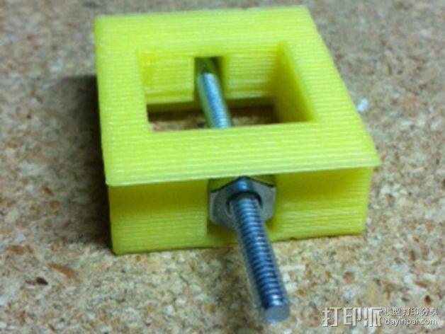 可调整高度的垫片 3D模型  图4