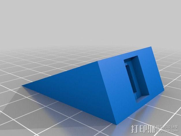 可调整高度的垫片 3D模型  图3