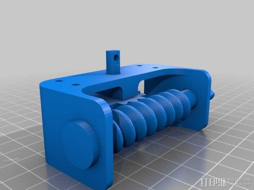 齿轮箱 3D模型  图2