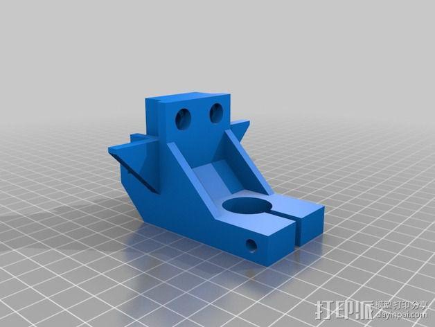 电动工具安装架 3D模型  图2