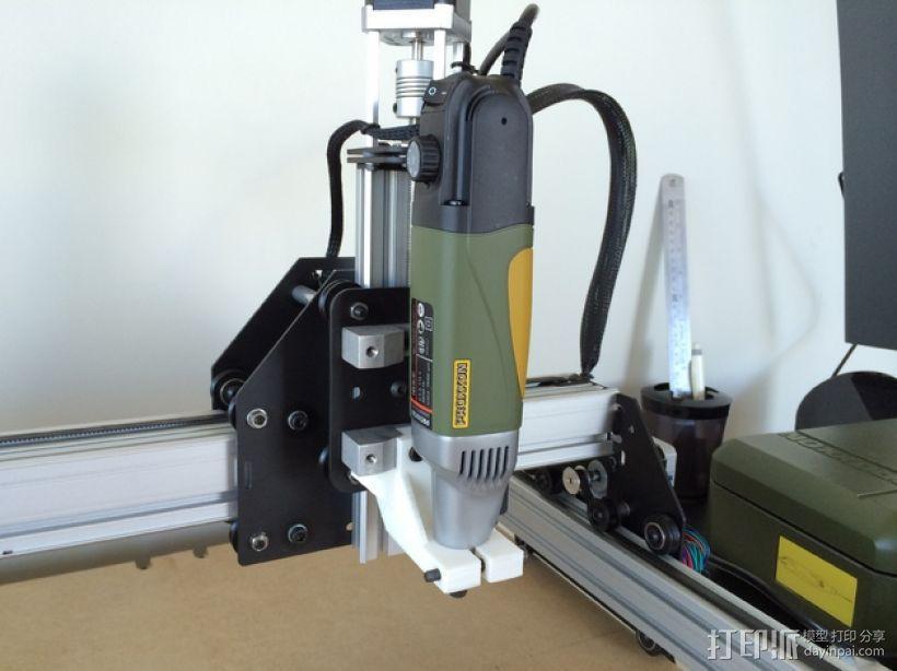 电动工具安装架 3D模型  图1