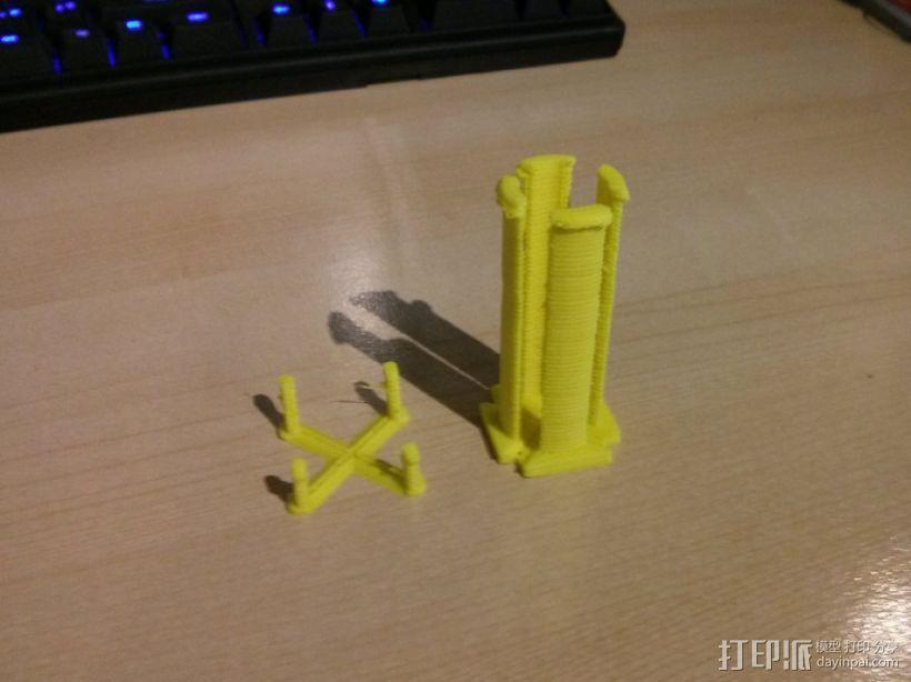 钉板 线轴固定架 3D模型  图5