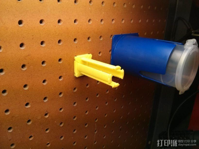 钉板 线轴固定架 3D模型  图4