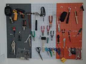壁挂式工具架 3D模型