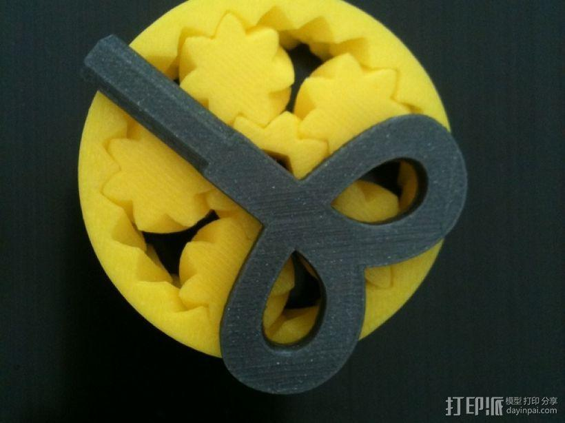 迷你六角扳手  3D模型  图1