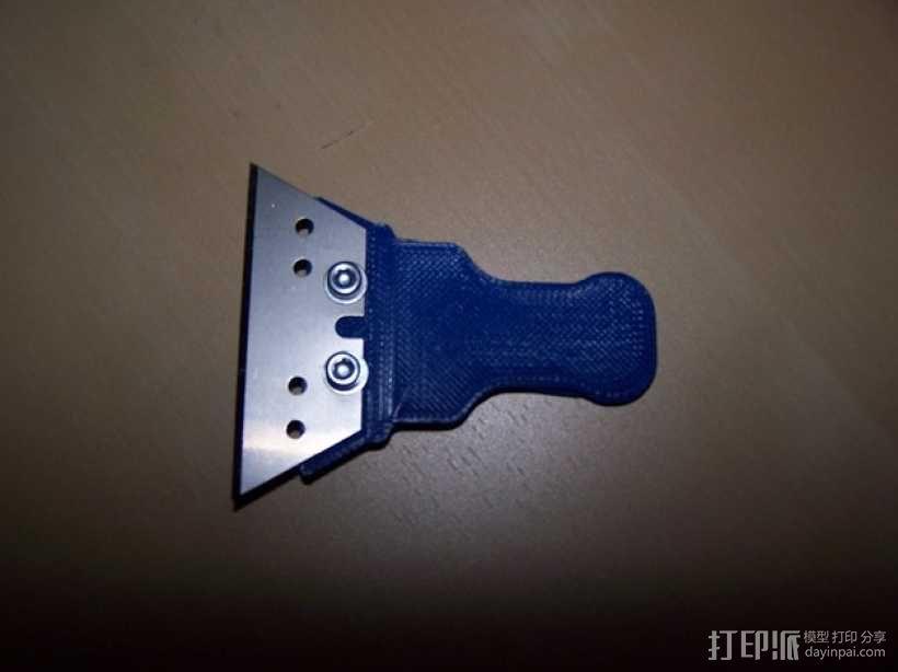 简易刮刀 3D模型  图3