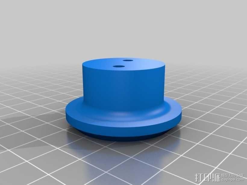 绳索滑轮 3D模型  图2