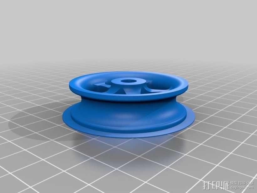 绳索滑轮 3D模型  图3