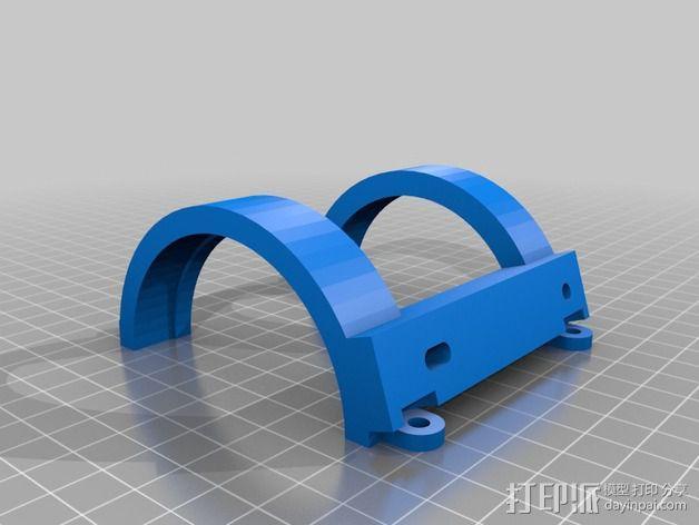 喷雾固定架 3D模型  图3