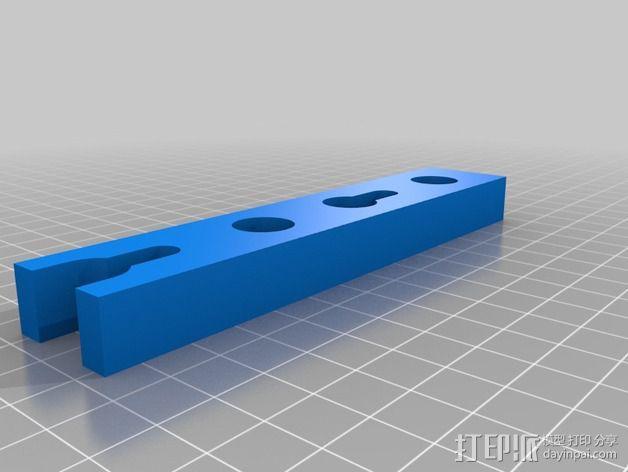 喷雾固定架 3D模型  图4