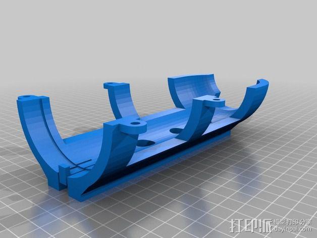 喷雾固定架 3D模型  图6