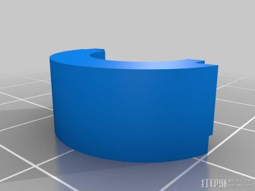 喷射发动机零部件 3D模型  图2