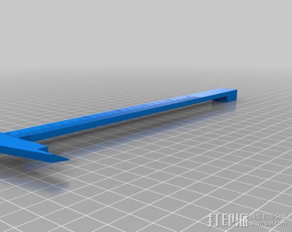 卡尺 3D模型  图5