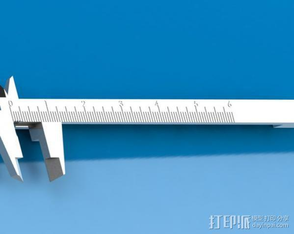 卡尺 3D模型  图3