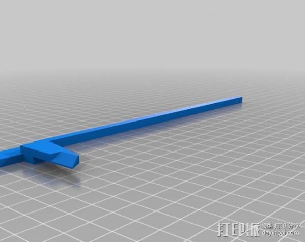 卡尺 3D模型  图6