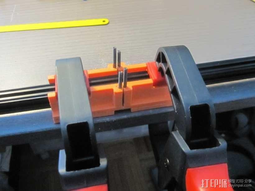 定制化斜锯柜 3D模型  图1