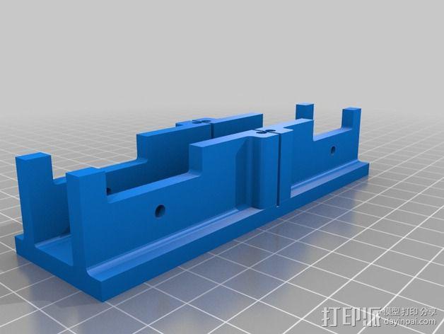 定制化斜锯柜 3D模型  图5