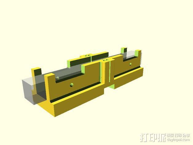 定制化斜锯柜 3D模型  图7
