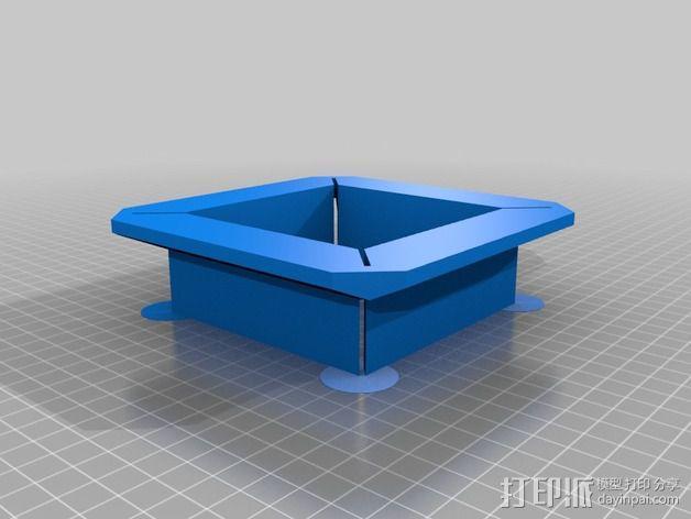 切割导向器 3D模型  图2