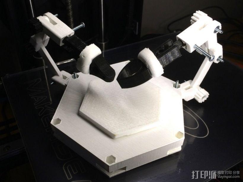 焊盘 模具 3D模型  图1
