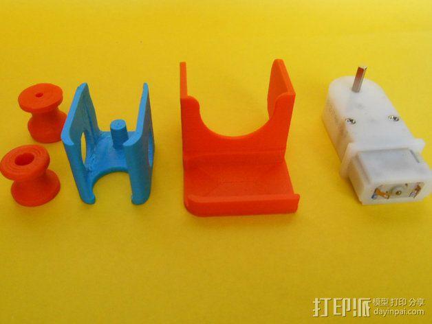 电动给料器 3D模型  图4
