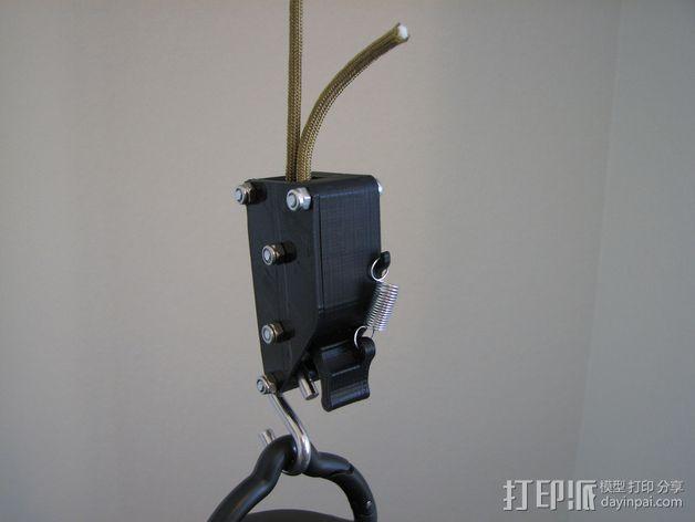 棘轮滑轮组 3D模型  图1