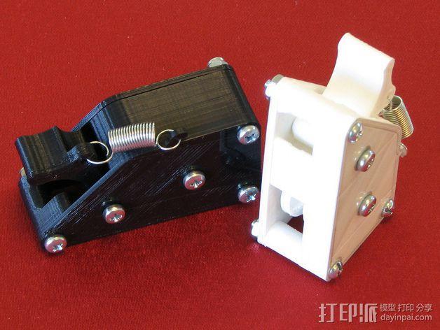 棘轮滑轮组 3D模型  图2