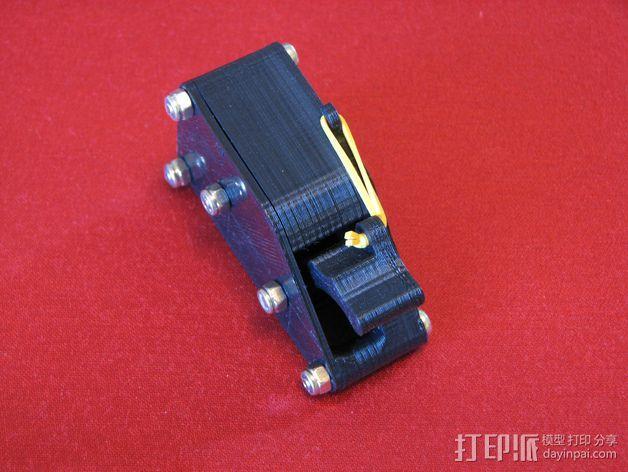 棘轮滑轮组 3D模型  图4