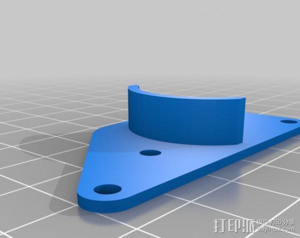 棘轮滑轮组 3D模型  图8