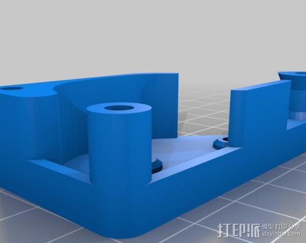 棘轮滑轮组 3D模型  图7