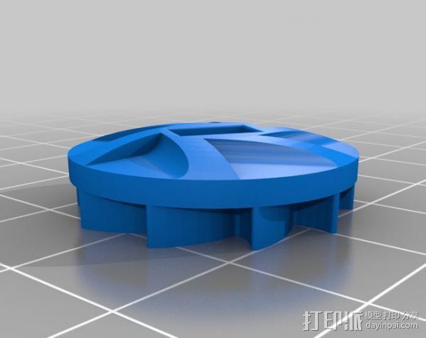 棘轮滑轮组 3D模型  图11