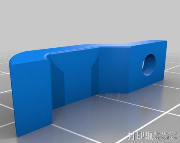 LED带 弹簧夹 3D模型  图2