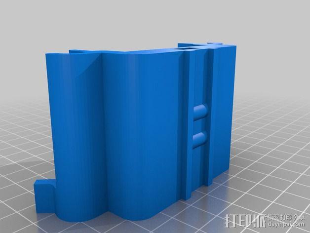 数显卡尺固定架 3D模型  图3