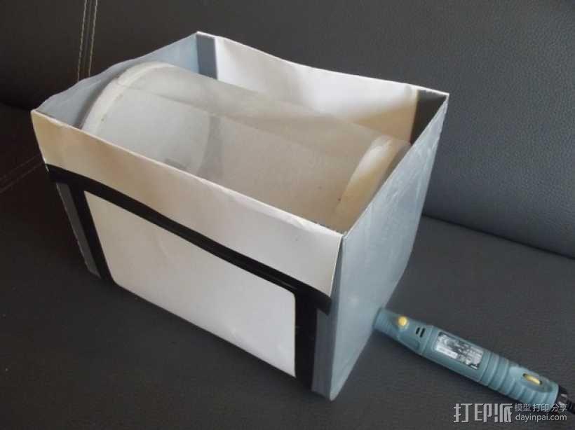 萃取器 3D模型  图1