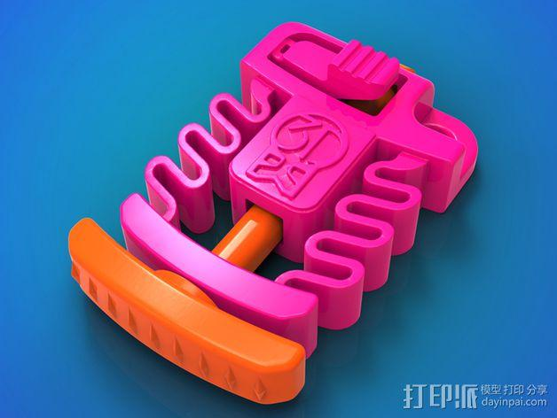Print & Play 启动器  3D模型  图1