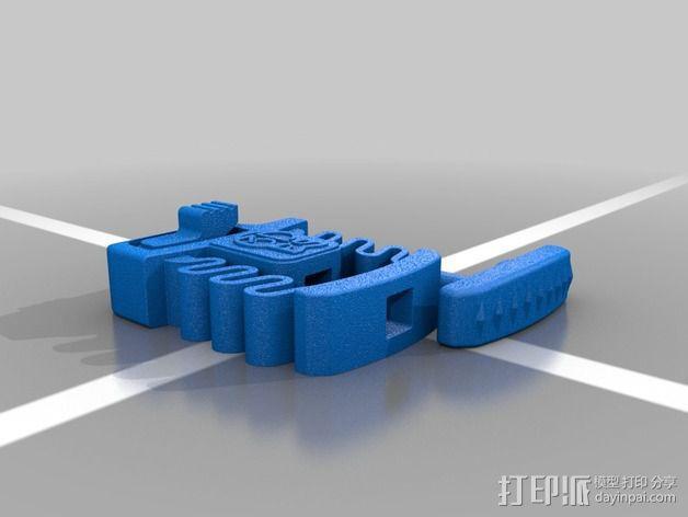 Print & Play 启动器  3D模型  图3