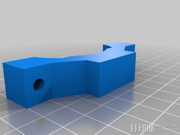 Shapeoko 2电动工具架 3D模型  图7