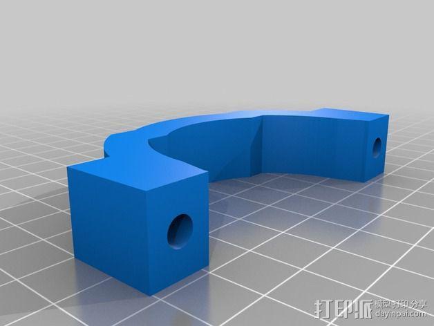 Shapeoko 2电动工具架 3D模型  图9